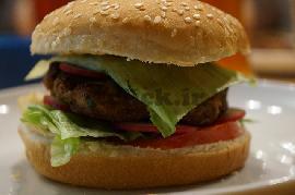 ساندویچ همبرگر