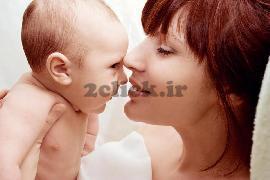 عشق کودک ومادر