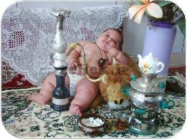 بچه قلیونی