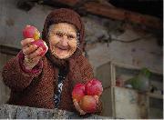 پیرزن سیب