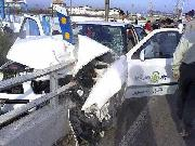 تصادف ماشین پلیس